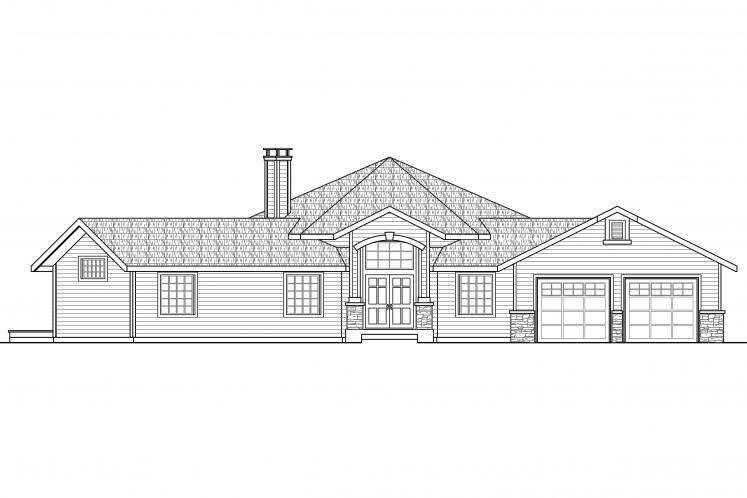 Contemporary House Plan - Silvercrest 31248 - Front Exterior