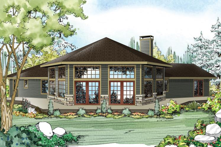 Ranch House Plan - Silvercrest 31248 - Front Exterior