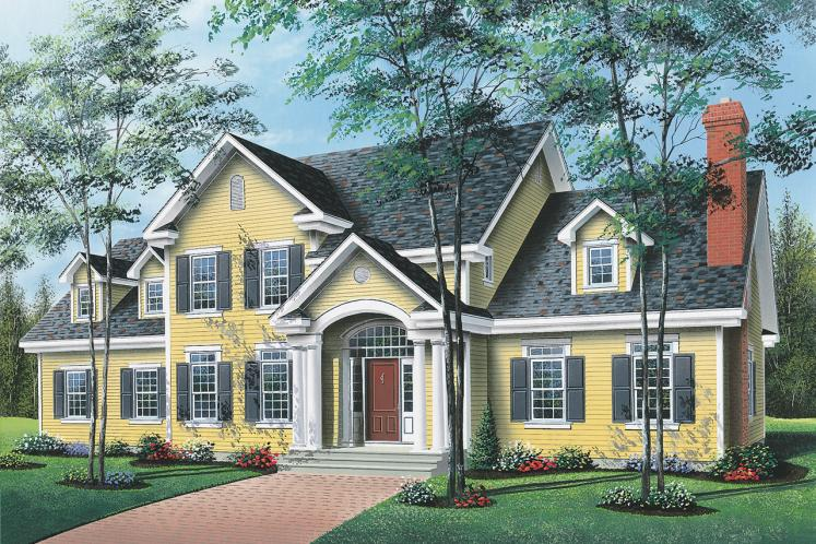 Country House Plan - Abraham 31326 - Front Exterior