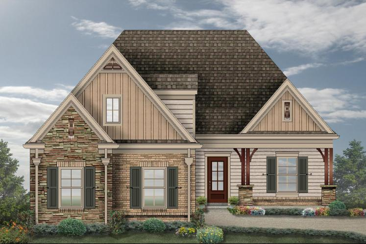 Craftsman House Plan -  31395 - Front Exterior