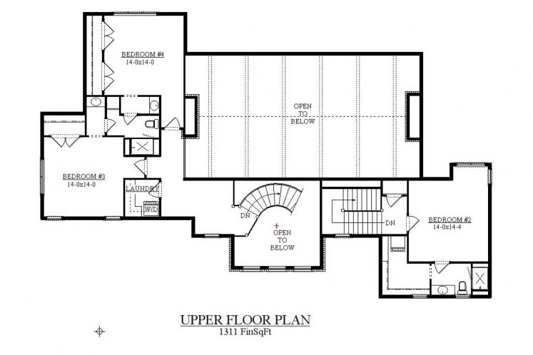Lodge Style House Plan - Walden 31512 - 2nd Floor Plan