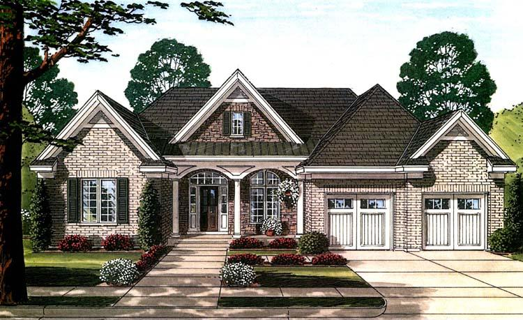 Traditional House Plan - Hilliard  31542 - Front Exterior