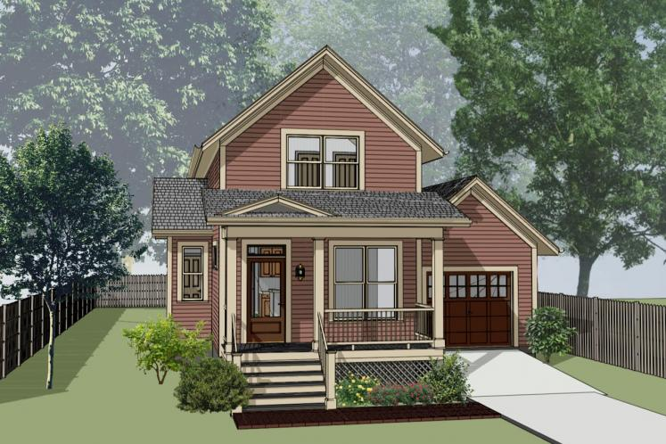 Country House Plan -  31591 - Front Exterior