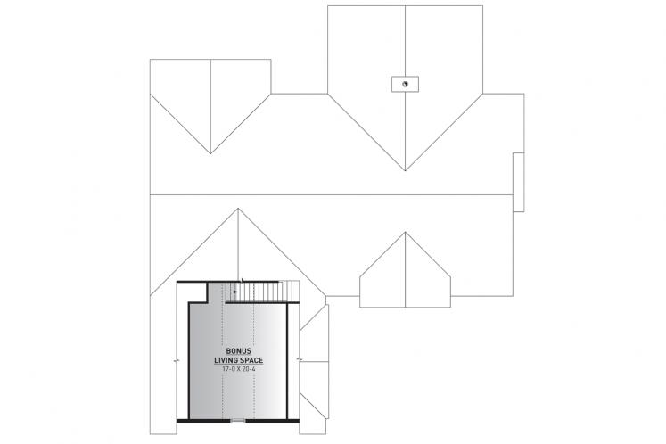 Spanish House Plan - Millport 31614 - 2nd Floor Plan