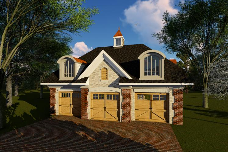 Classic Garage Plan -  32221 - Front Exterior