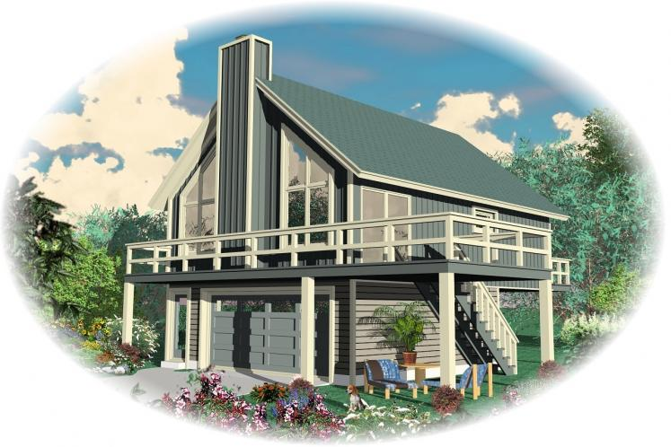 Traditional House Plan -  32325 - Front Exterior