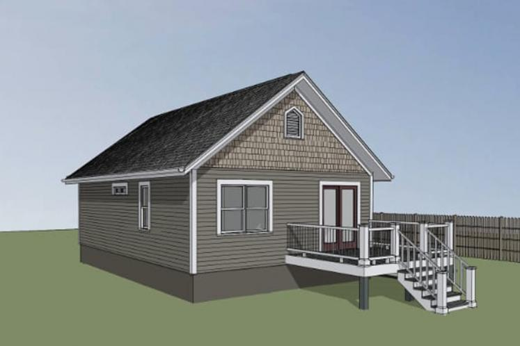 Cottage House Plan -  32333 - Right Exterior