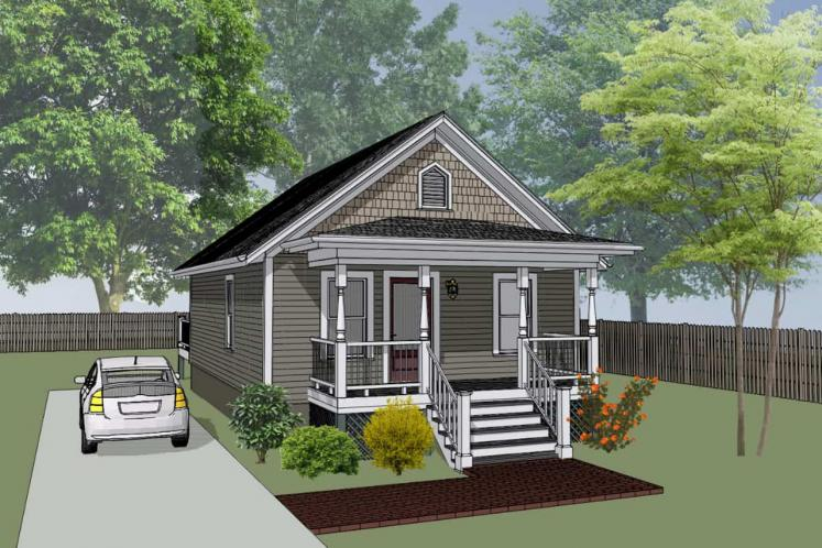 Cottage House Plan -  32333 - Front Exterior