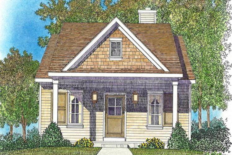 Cottage House Plan -  32464 - Front Exterior