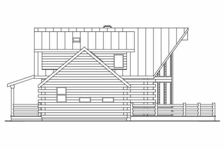 Cottage House Plan - Aspen 32503 - Right Exterior