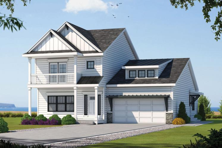 Cape Cod House Plan - Westerly Creek 32520 - Front Exterior