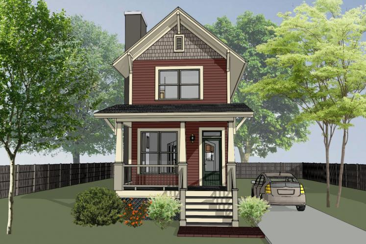 Country House Plan -  32689 - Front Exterior