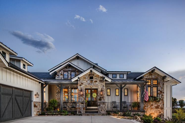 Craftsman House Plan - Catalina Ridge 32773 - Front Exterior