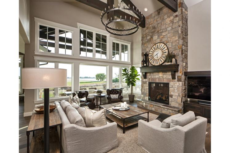 Farmhouse House Plan - Catalina Ridge 32773 - Great Room