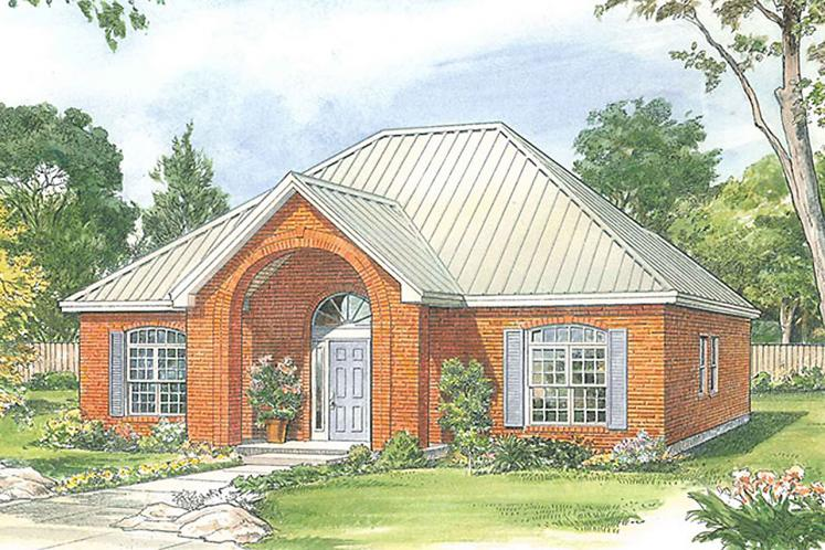 Southern House Plan - Carrington 32808 - Front Exterior