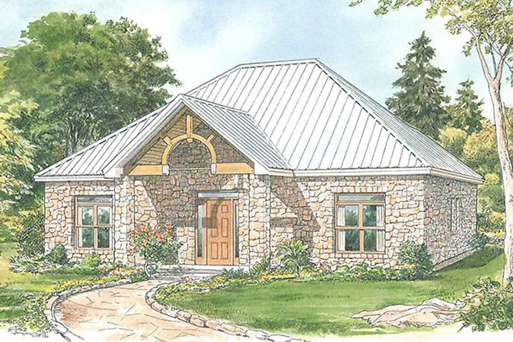 Country House Plan - Carrington 32808 - Front Exterior