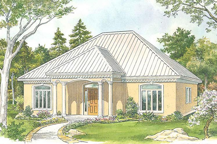 Cottage House Plan - Carrington 32808 - Front Exterior