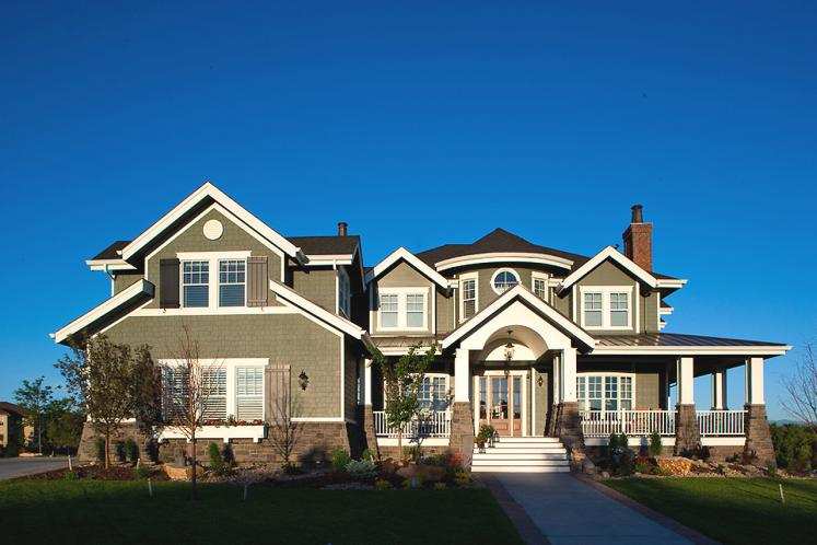 Classic House Plan - New Haven 33225 - Front Exterior