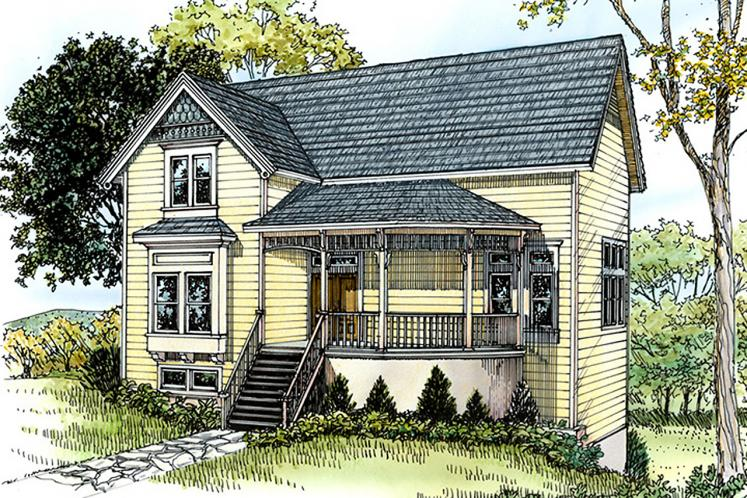 Country House Plan - Fentress 33354 - Front Exterior