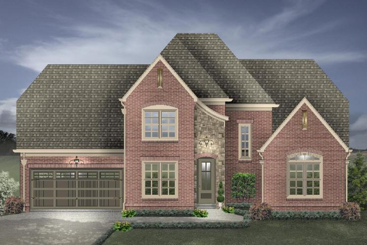 Classic House Plan -  33358 - Front Exterior