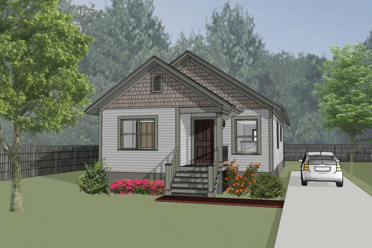 Cottage House Plan -  33391 - Front Exterior