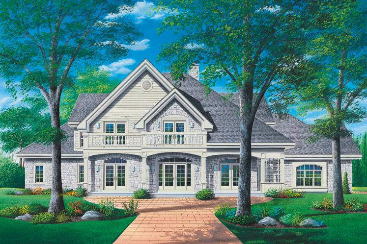 Traditional House Plan - Carmel 34173 - Front Exterior