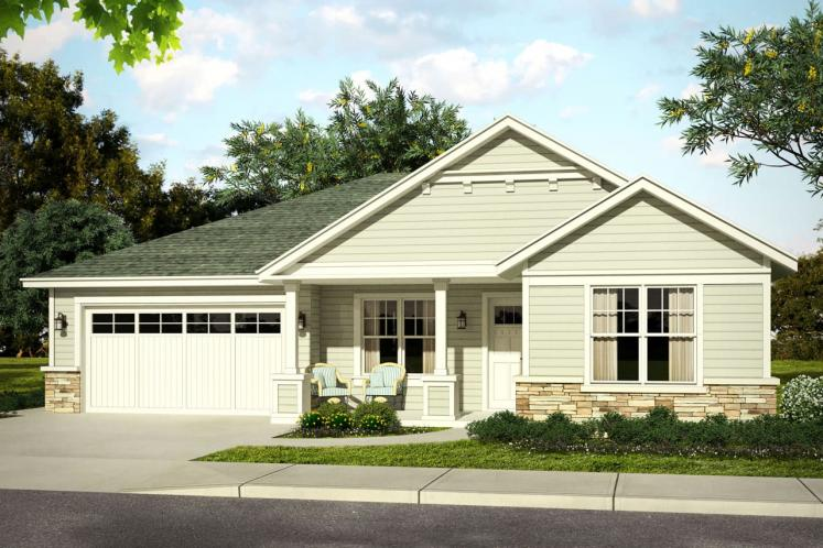 Country House Plan - Elsmere 34321 - Front Exterior