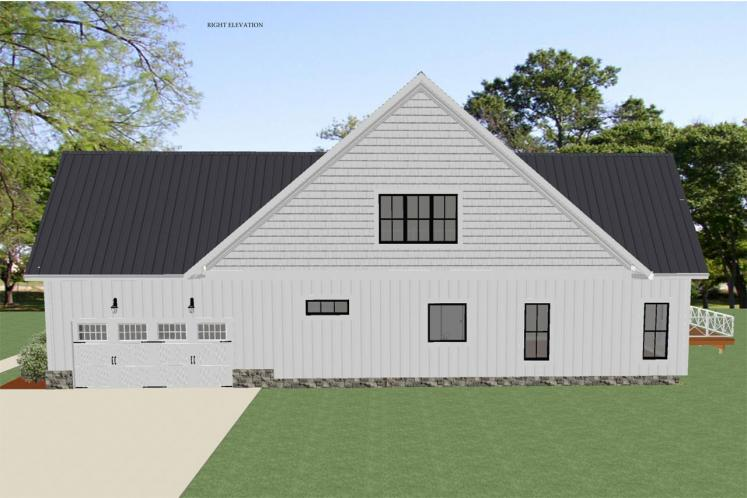 Cottage House Plan - Alamance 34376 - Right Exterior