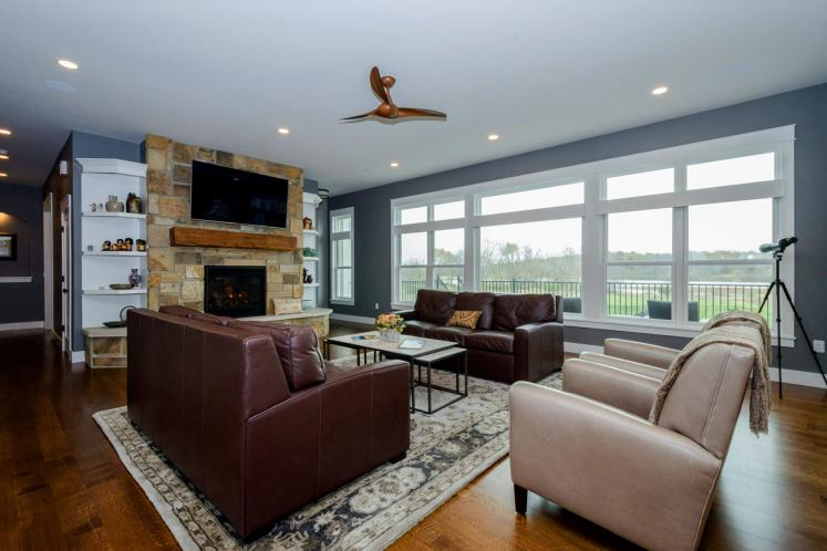 Traditional House Plan -  34676 - Great Room