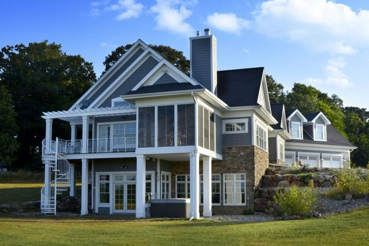 Classic House Plan -  35042 - Right Exterior