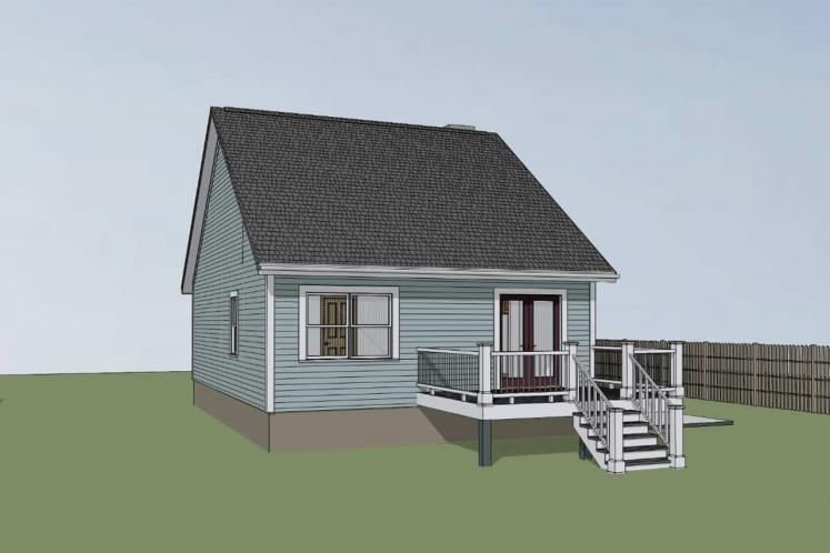 Cottage House Plan -  35045 - Right Exterior