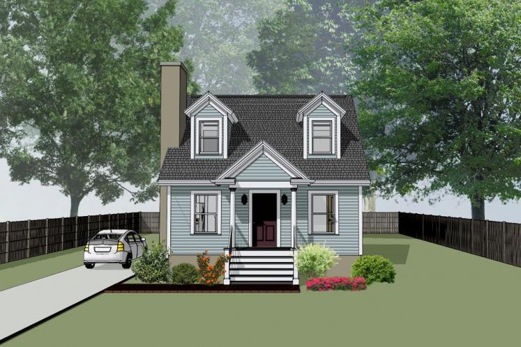 Bungalow House Plan -  35045 - Front Exterior