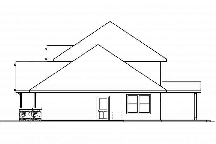 Bungalow House Plan - Cavanaugh 35217 - Right Exterior