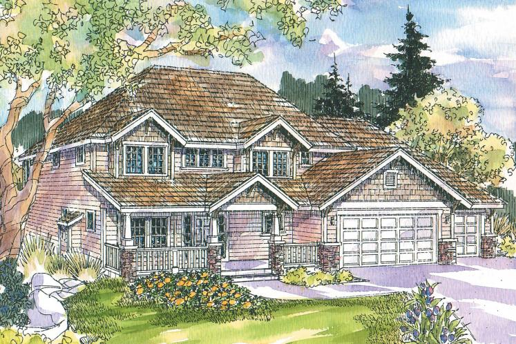 Bungalow House Plan - Cavanaugh 35217 - Front Exterior