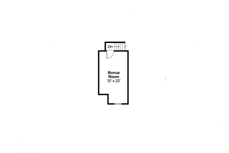 Ranch House Plan - Anderson 35398 - 2nd Floor Plan