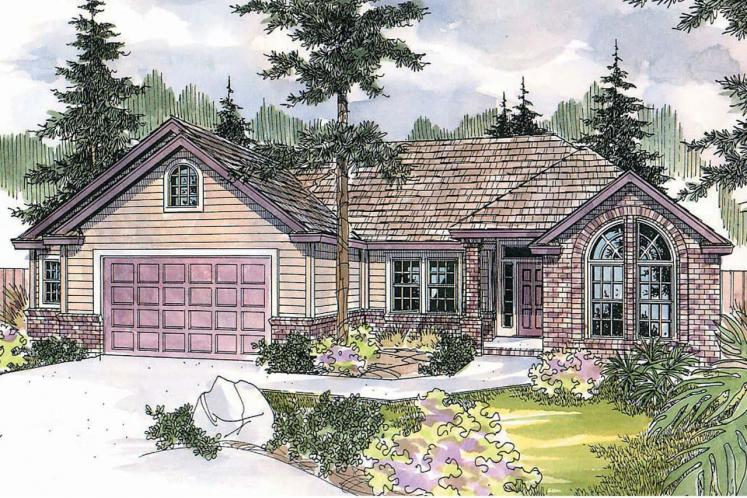 Traditional House Plan - Anderson 35398 - Front Exterior