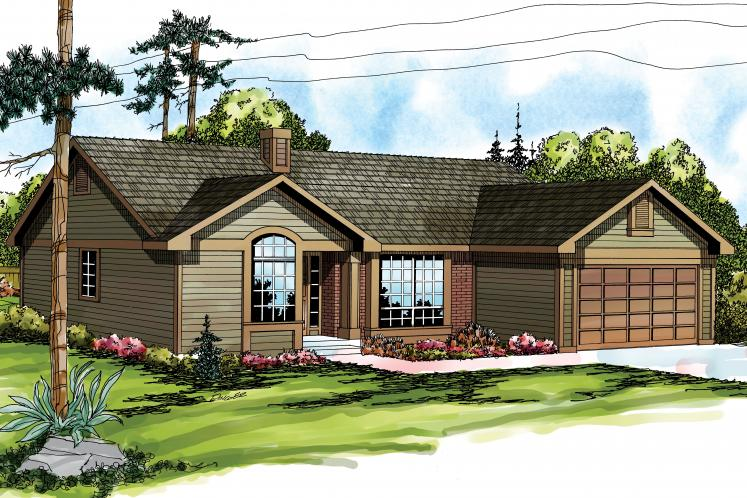 Traditional House Plan - Phoenix 35444 - Front Exterior