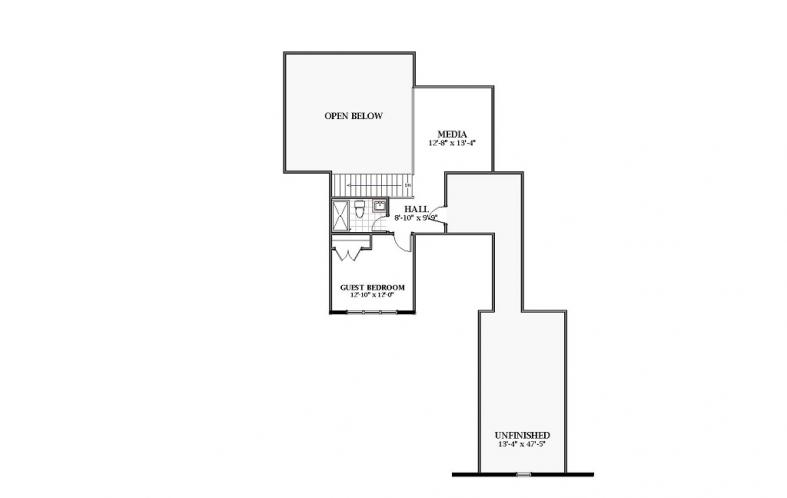 Farmhouse House Plan - Ashlyn 35737 - 2nd Floor Plan