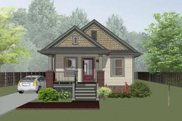 Cottage House Plan -  36035 - Front Exterior
