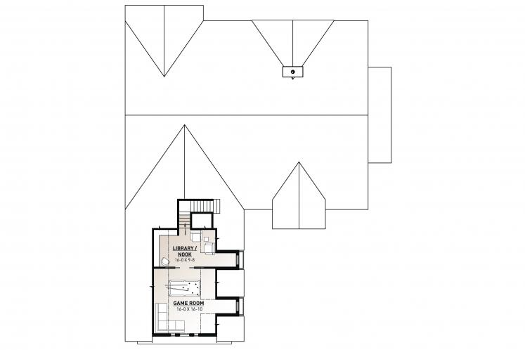 Farmhouse House Plan - Millport 2 36134 - 2nd Floor Plan