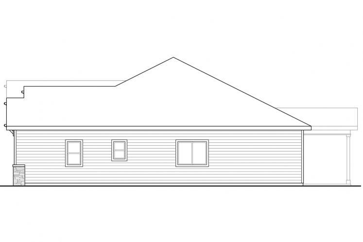 Cottage House Plan - Northfield 36788 - Right Exterior