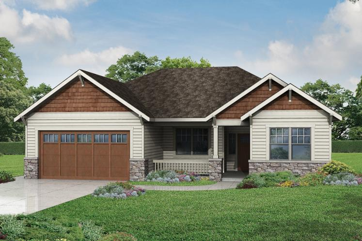 Cottage House Plan - Northfield 36788 - Front Exterior