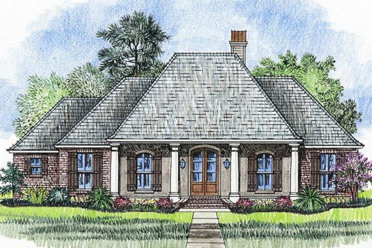 European House Plan - Laurel 37536 - Front Exterior
