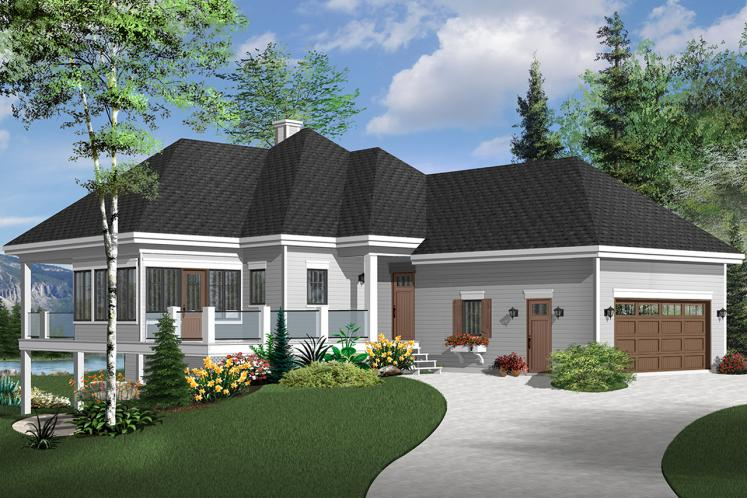 Country House Plan - The Gallagher 3 37689 - Front Exterior