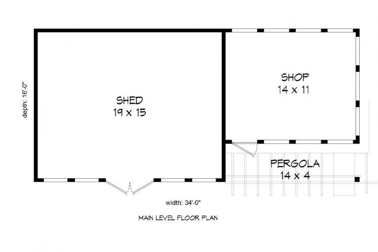 Country  -  38362 - 1st Floor Plan