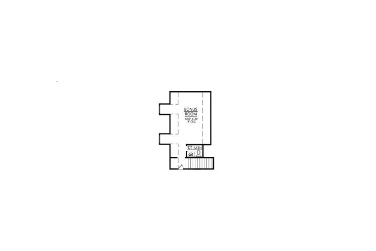 Southern House Plan - Melrose 38382 - 2nd Floor Plan