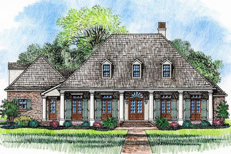 European House Plan - Melrose 38382 - Front Exterior