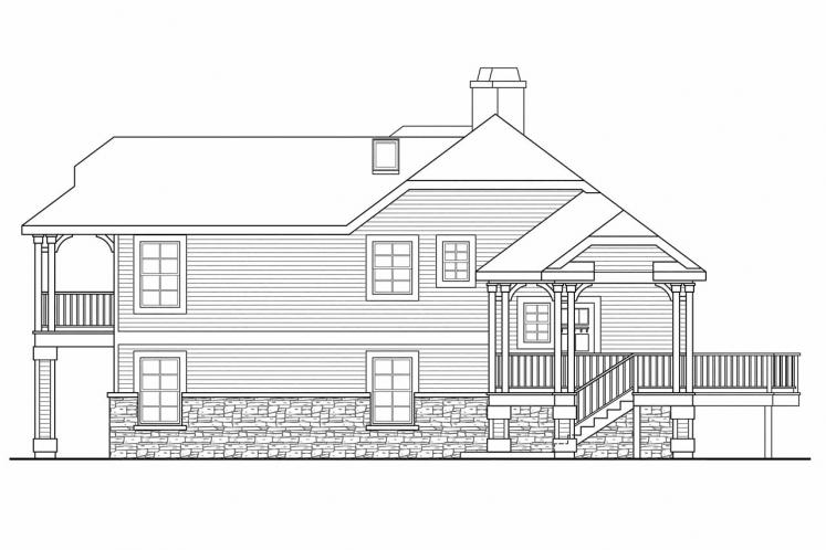 Cottage House Plan - Eagle Creek 38416 - Right Exterior