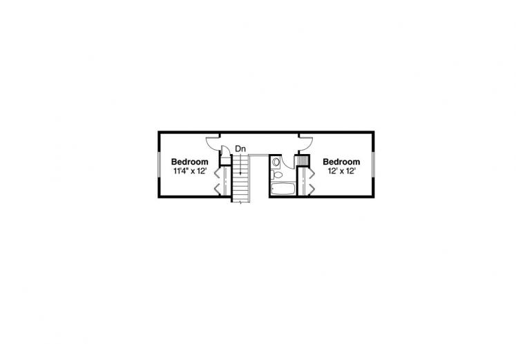 Traditional House Plan - Carter 38893 - 2nd Floor Plan