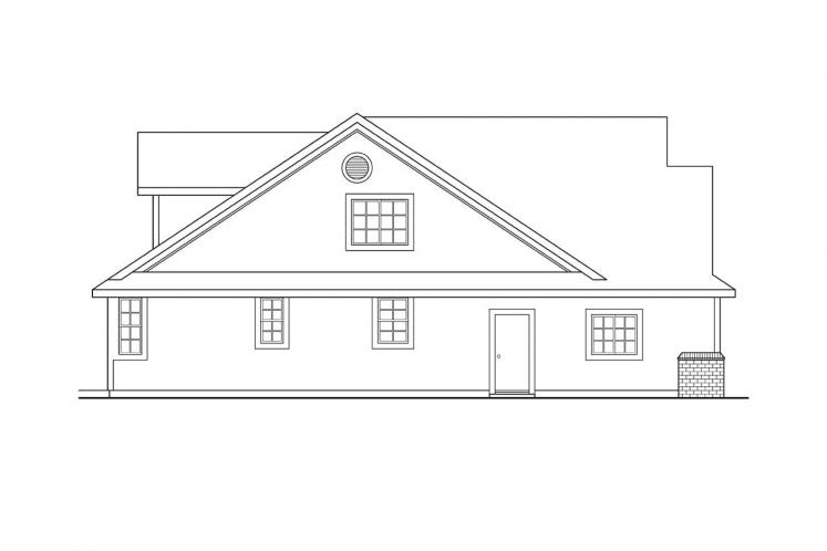 Country House Plan - Brillion 38939 - Left Exterior